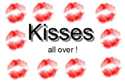 kisses all over